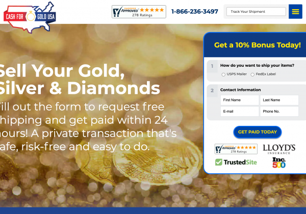 cash for gold usa