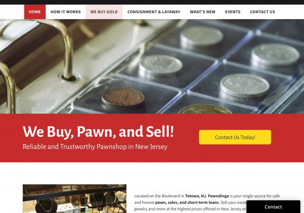 pawndingo website