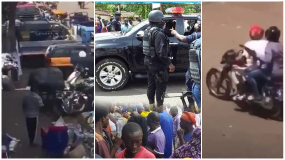 How robbers of bullion van at Korle-Bu chased and shot a woman who raised alarm