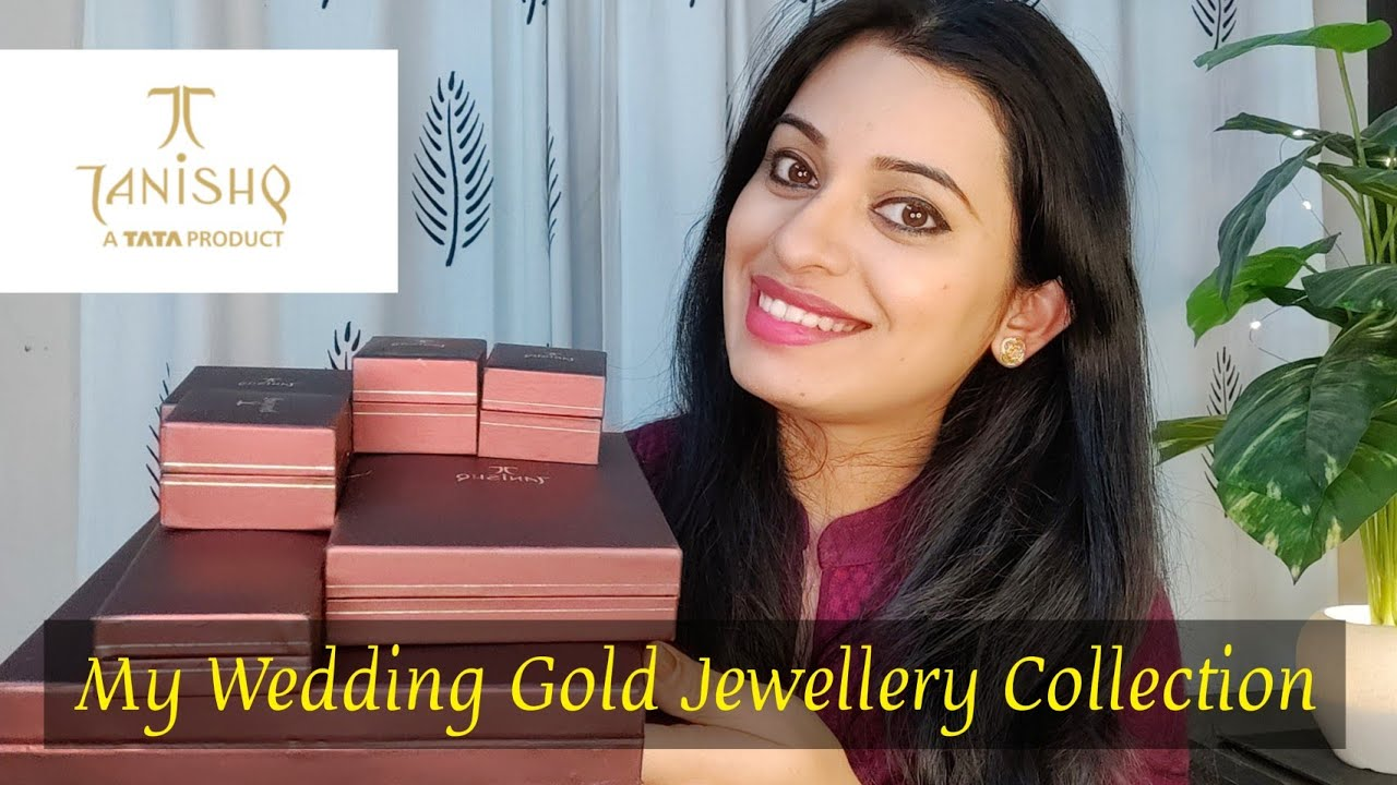 My Tanishq Wedding ceremony Gold Jewelry Assortment || AbhaJaiswal - Relic Road - Antiques, Relics and Rare Collectables