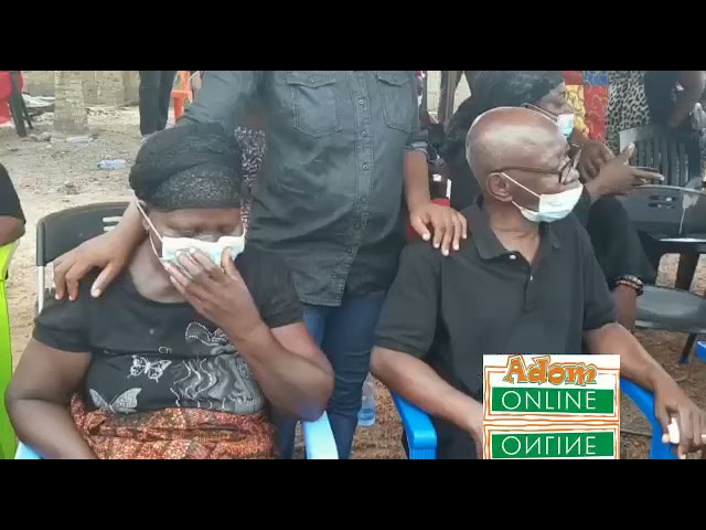 Tears as IGP visits family of policeman killed in James Town bullion...