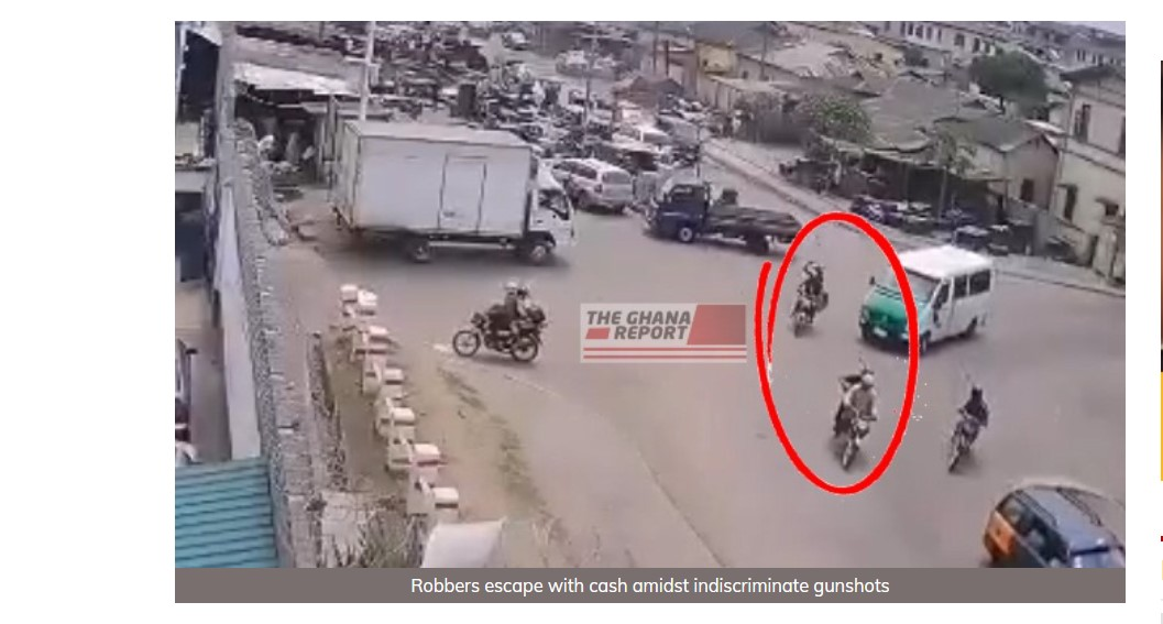 Exclusive CCTV footage shows how Adedenkpo bullion van robbers carried out deadly operation