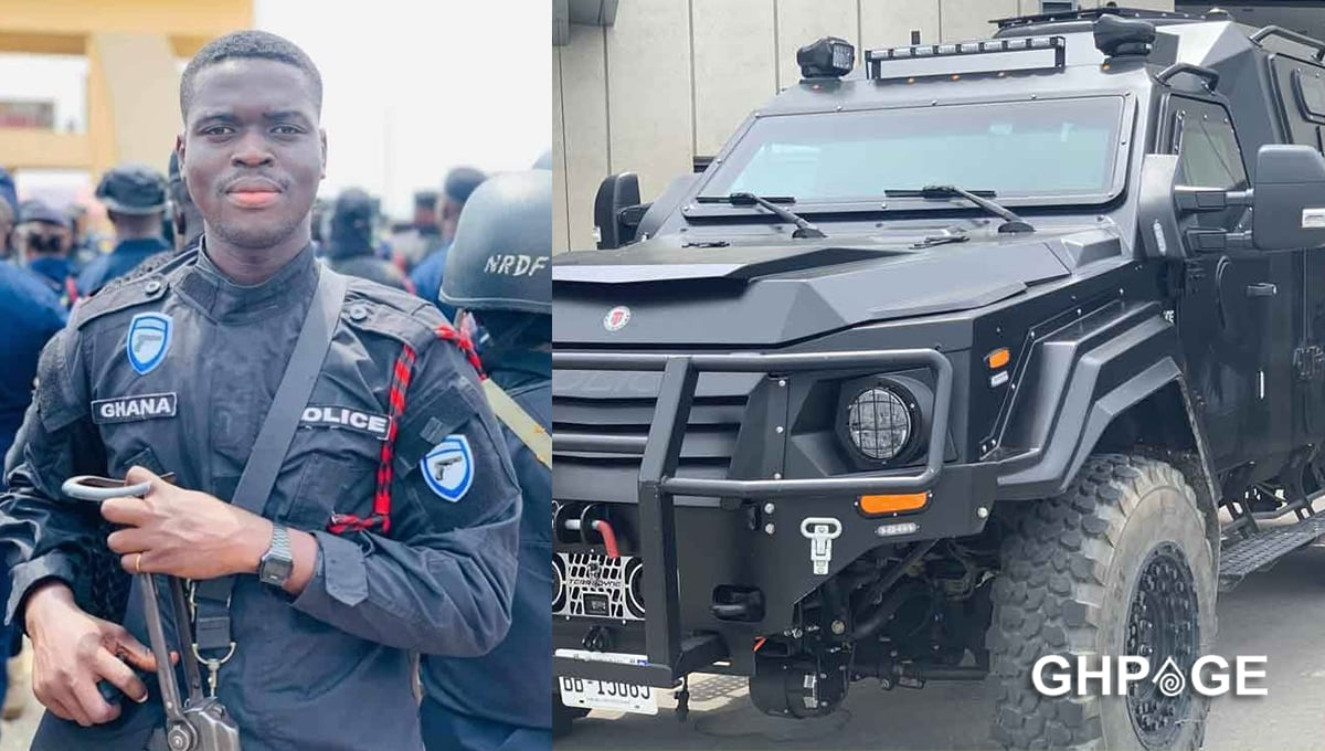 Two police officers will escort bullion vans henceforth - CID Boss announces - GhPage
