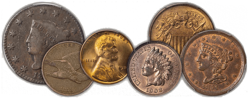 United States One Cent Pieces | Rocky Mountain Coin - Buy & Sell Gold & Silver Wisely in Denver, CO | Rocky Mountain Coin