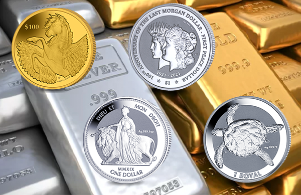 Bullion Coins Released To Date British Pobjoy Mint