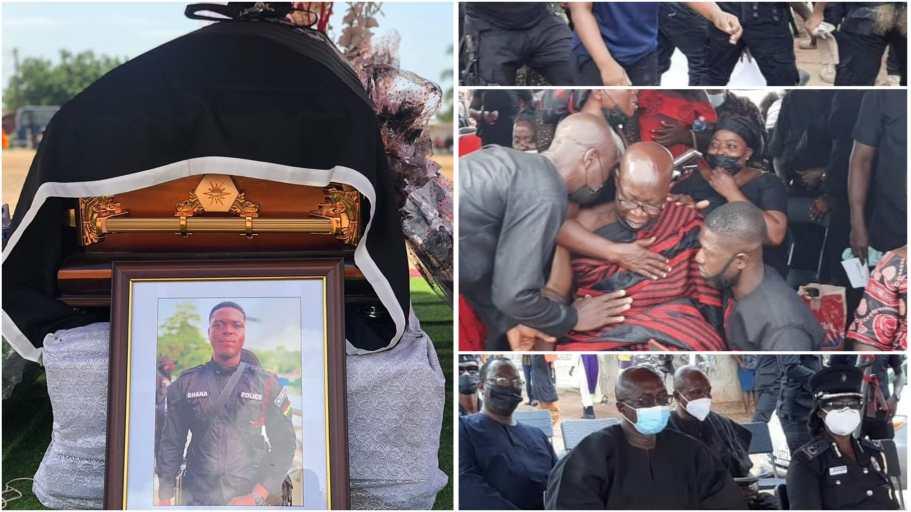 Constable Emmanuel Osei: Slain police officer in Jamestown bullion van robbery laid to rest
