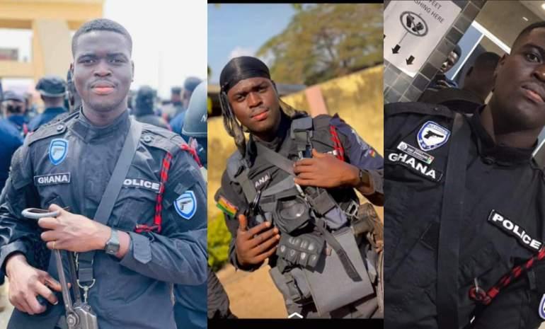 Photos Of Police Officer Shot Dead In Daylight Bullion Van Robbery In Ghana Surfaces - GhanaCelebrities.Com