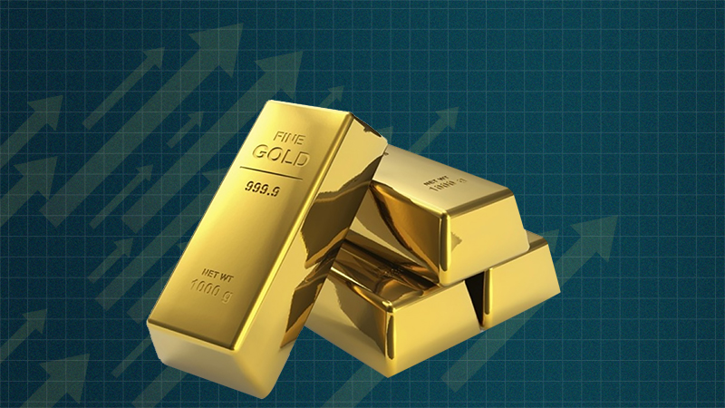 Gold price increases by Rs1,300 in two days  - SAMAA